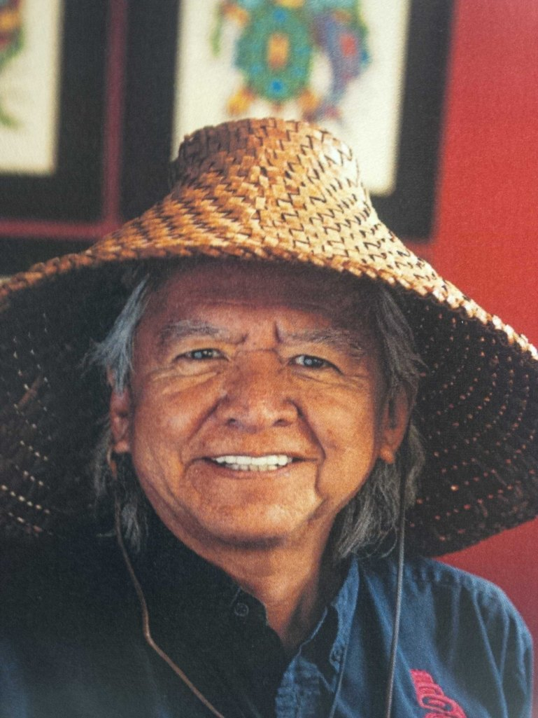 Elder Gerry Oleman. Member of the St'at'imc Nation from Tsal'alh (Shalalth B.C.)